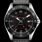 นาฬิกาผู้ชาย Hamilton รุ่น H76755735, Khaki Aviation Pilot GMT Automatic