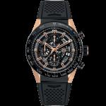 นาฬิกาผู้ชาย Tag Heuer รุ่น CAR2A5A.FT6044, Carrera Calibre Heuer01 Automatic Chronograph 100 M - ∅45 Mm Men's Watch
