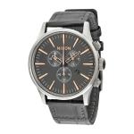 นาฬิกาผู้ชาย Nixon รุ่น A4052145, SENTRY CHRONO LEATHER