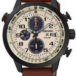นาฬิกาผู้ชาย Seiko รุ่น SSC425P1, Solar Prospex Sky Aviator Chronograph