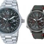 นาฬิกาข้อมือผู้ชาย Citizen Eco-Drive รุ่น BJ7010-59E-SET, Promaster Nighthawk Euro Pilots Watch