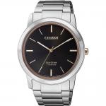 นาฬิกาผู้ชาย Citizen Eco-Drive รุ่น AW2024-81E, Super Titanium Sapphire
