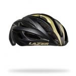 หมวกจักรยาน LAZER O2 สี Matte Black Gold