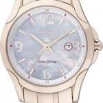 นาฬิกาข้อมือผู้หญิง Citizen Eco-Drive รุ่น EW1782-55A, Sapphire Japan WR 30m