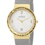 นาฬิกาผู้หญิง Skagen รุ่น SKW2002, Leonora Silver Dial Swarovski Crystal Mesh Bracelet