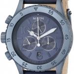 นาฬิกาผู้หญิง Nixon รุ่น A5041930, The 38-20 Chrono Leather Strap