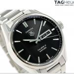 นาฬิกาผู้ชาย Tag Heuer รุ่น WAR201A.BA0723, CARRERA Calibre 5 Day-Date Automatic 100M - ∅41 mm Men's Watch