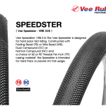 ยางนอก VEE-Rubber ,26x1.75 ขอบพับ,VRB 316