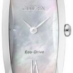 นาฬิกาข้อมือผู้หญิง Citizen Eco-Drive รุ่น EX1100-51D, Sapphire Mother Of Pearl Japan 50m