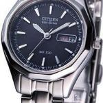 นาฬิกาข้อมือผู้หญิง Citizen Eco-Drive รุ่น EW3145-58E, Womens WR 100m Watch