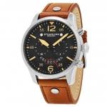 นาฬิกาผู้ชาย Stuhrling Original รุ่น 473.01, Aviator Quartz Chronograph