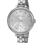 นาฬิกาผู้หญิง Marc By Marc Jacobs รุ่น MBM3362, Sally Silver Dial Stainless Steel