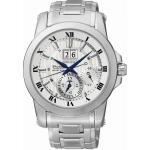 นาฬิกาผู้ชาย Seiko รุ่น SNP091P1, Premier Kinetic Perpetual Men's Watch