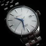 นาฬิกาผู้ชาย Seiko รุ่น SRPB77, Presage Automatic Sunray Dial Stainless Steel Men's Watch