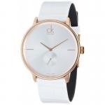 นาฬิกาข้อมือผู้ชาย Calvin Klein รุ่น K2Y216K6, Rose Accent Dress Quartz SWISS Watch