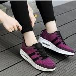 รองเท้าผ้าใบตาข่ายระบายอากาศ รองเท้าเพื่อสุขภาพ