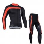 ชุดเสื้อจักรยานแขนยาว 3T 2014 สีดำ