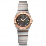 นาฬิกาผู้หญิง Omega รุ่น 123.20.24.60.57.005, Constellation Tahiti Quartz Diamond