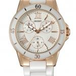 นาฬิกาผู้หญิง Orient รุ่น FUT0F001W0, Ceramic Quartz