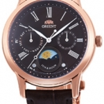 นาฬิกาผู้หญิง Orient รุ่น RA-KA0002Y00C, Quartz Classic Sun & Moon Japan Women's Watch