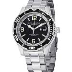 นาฬิกาผู้ชาย Stuhrling Original รุ่น 415.01, Regatta Aquadiver 200M Swiss Quartz Black Dial