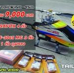 ฮ.ไฟฟ้า UCUS รุ่น TAILWIND 450 ชุด KIT พร้อม SERVO
