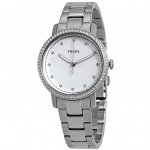 นาฬิกาผู้หญิง Fossil รุ่น ES4287, Neely Diamond White Dial Stainless Steel Women's Watch
