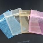 ถุงผ้าแก้ว ขนาด 5x7 นิ้ว แพคละ 10 ใบ