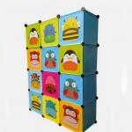 ตู้เก็บของ ตู้เสื้อผ้าเด็ก DIY ลาย Skip Hop สคิปฮอพ