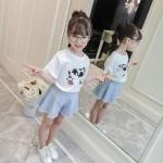 GG48 - เสื้อ+กางเกง 5 ตัว/แพค ไซส์ 100-140