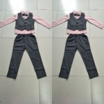 ID448-เสื้อ+กางเกง 6 ชุด /แพค ไซส์ 100-150
