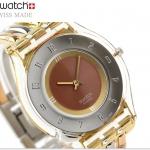 นาฬิกาผู้หญิง Swatch รุ่น SFK240B, Tri Gold