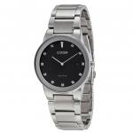 นาฬิกาผู้ชาย Citizen Eco-Drive รุ่น AU1060-51G, Axiom Black Dial