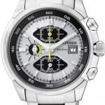 นาฬิกาข้อมือผู้ชาย Citizen Eco-Drive รุ่น CA0130-58A, Chronograph WR 100m Sports Watch