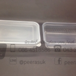 กล่องอาหาร 500 ml ใส KTP แพคละ 25 ชิ้น