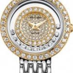 นาฬิกาผู้หญิง Rhythm รุ่น L1203S04, Sapphire Crystal Collection L1203S-04, L1203S 04