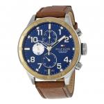 นาฬิกาผู้ชาย Tommy Hilfiger รุ่น 1791137, Multi-Function Navy Blue Dial Brown Leather