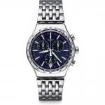 นาฬิกาผู้ชาย Swatch รุ่น YVS445G, Irony Dress My Wrist Chronograph Tachymeter Men's Watch