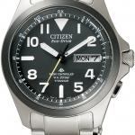 นาฬิกาผู้ชาย Citizen Eco-Drive รุ่น PMD56-2952, Promaster Land Radio Controlled Titanium 200m