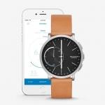 นาฬิกาผู้ชาย Skagen รุ่น SKT1104, Hagen Connected Hybrid Smartwatch Titanium Leather Men's Watch