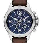 นาฬิกาผู้ชาย Armani Exchange รุ่น AX1505, Quartz Chronograph Blue Dial