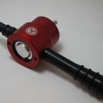 คัตเตอร์ตัดโลหะ แปลงหัวสว่าน Nibbler Metal Cutter Drill (สีแดง)