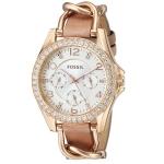 นาฬิกาผู้หญิง Fossil รุ่น ES3466, Riley Multifunction Crystals Women's Watch