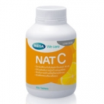 Mega We Care nat C (วิตามินซี) 1000 mg 150 แคปซูล