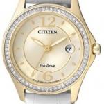 นาฬิกาข้อมือผู้หญิง Citizen Eco-Drive รุ่น FE1142-05P, Swarovski Crystal Elegant