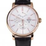 นาฬิกาผู้ชาย Orient รุ่น FEZ09006W, Automatic Power Reserve