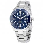 นาฬิกาผู้ชาย Tag Heuer รุ่น WAY201B.BA0927, Aquaracer Automatic 300M