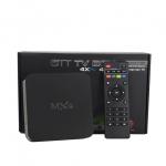 กล่องแอนดรอยด์สมาร์ทีวี Android Smart Box รุ่น MXQ ระบบ Android Amlogic S805 Quad Core Ram1GB/Flash8GB (สีดำ)