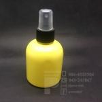 ขวด KI 150 ml สีเหลือง+สเปรย์ดำ 10 ชิ้น