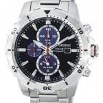 นาฬิกาผู้ชาย Seiko รุ่น SSC557P1, Solar Chronograph Alarm